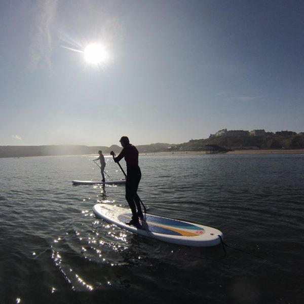 Sup Improver class in the sun