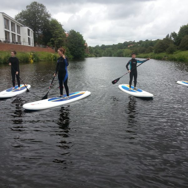 SUP Introduction Class on the water