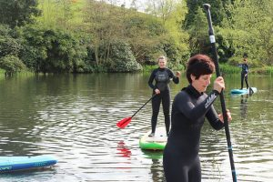 Learning the basics in the SUP introduction Class